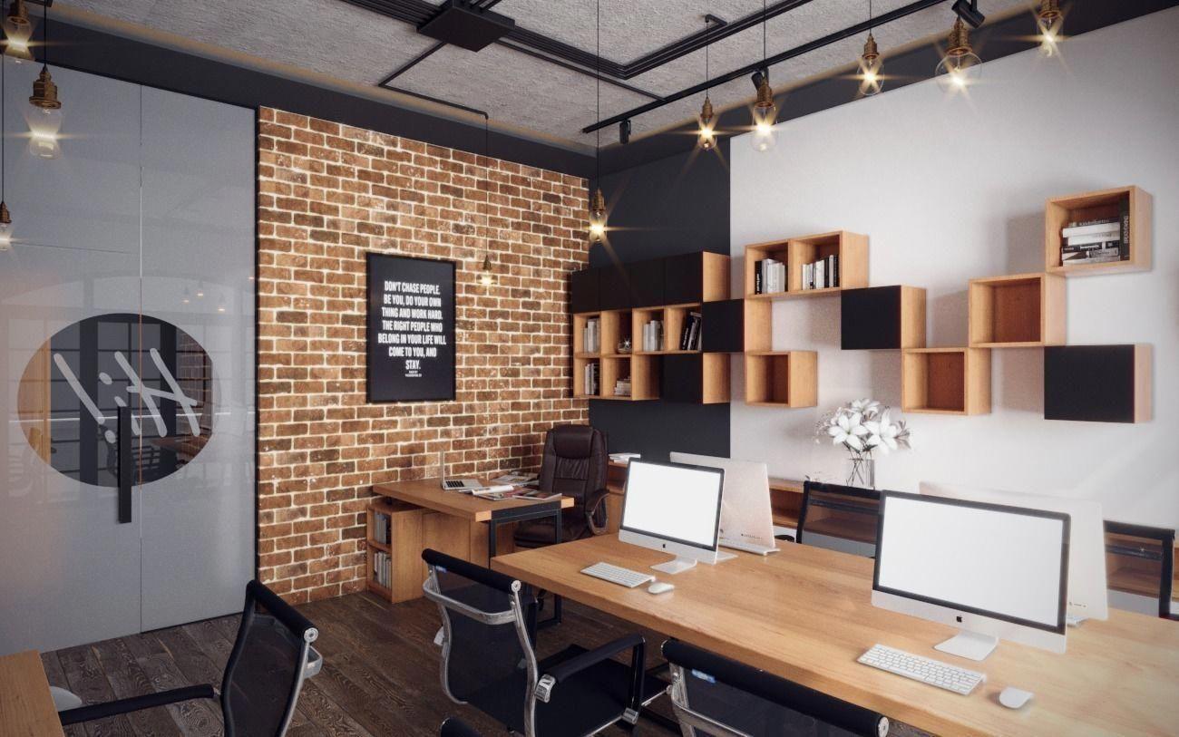 Small Industrial Office 3d Model Max Obj Mtl 1