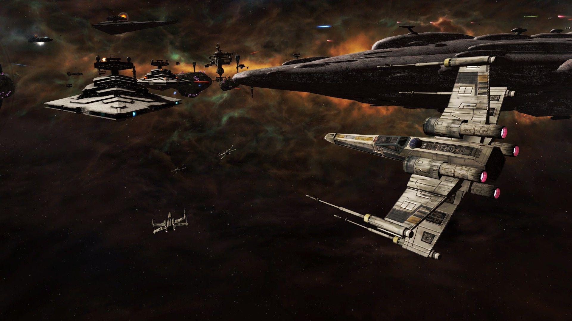 Artwork Star Wars Episode VII The Force Awakens X Wing Wallpaper Wallpapers