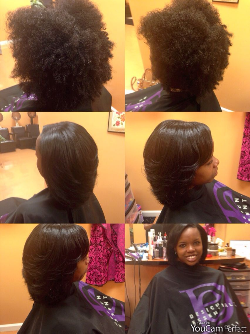 Blowout And Silk Pressed All Natural Hair No Chemicals Natural Hairstylesforwomen Hair Hairstyles Hair Styles Natural Hair Blowout Short Natural Hair Styles
