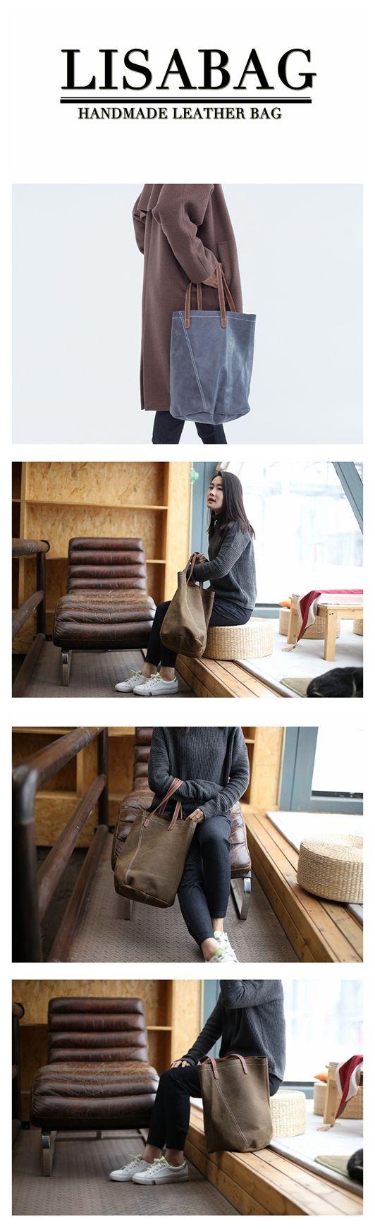 ... Bag Leather Tote Bag Basket Storage Gift for  the best attitude 7a343  42425 Handmade Womens Fashion Leather Tote Bag Handbag Shoulder Bag Shopping  ... 330d5936fe