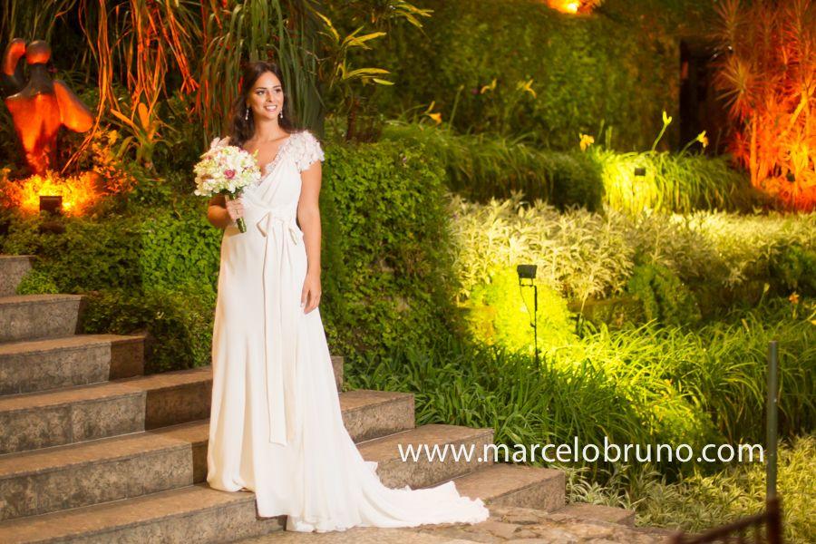 Vestido de noiva Magali Viera | Foto: Marcelo Bruno