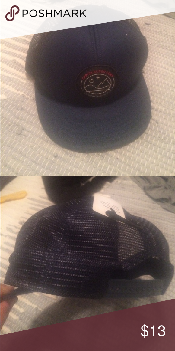 Capita trucker hat Brand new with tags capita Accessories Hats  4d6f4e7c601