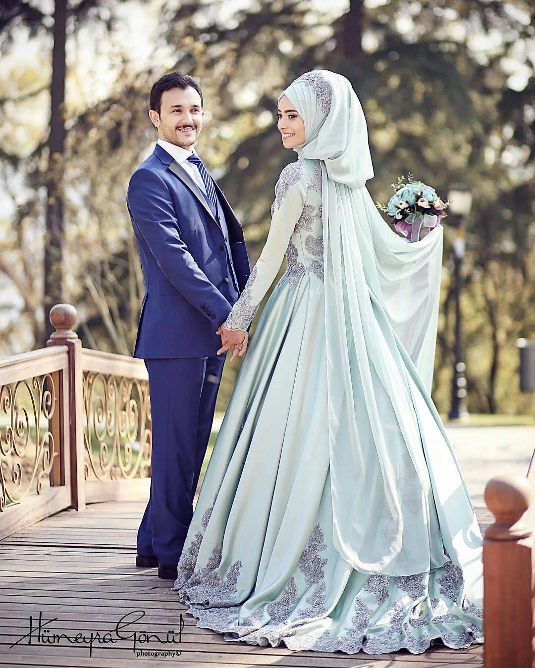 Pin by Asiah on Muslim Bridal Hijab(Niqab)~Bridesmaids | Pinterest ...