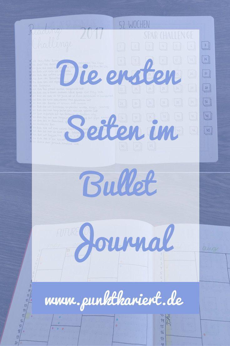 Die ersten Seiten im Bullet Journal: 6 Möglichkeiten #guidesign