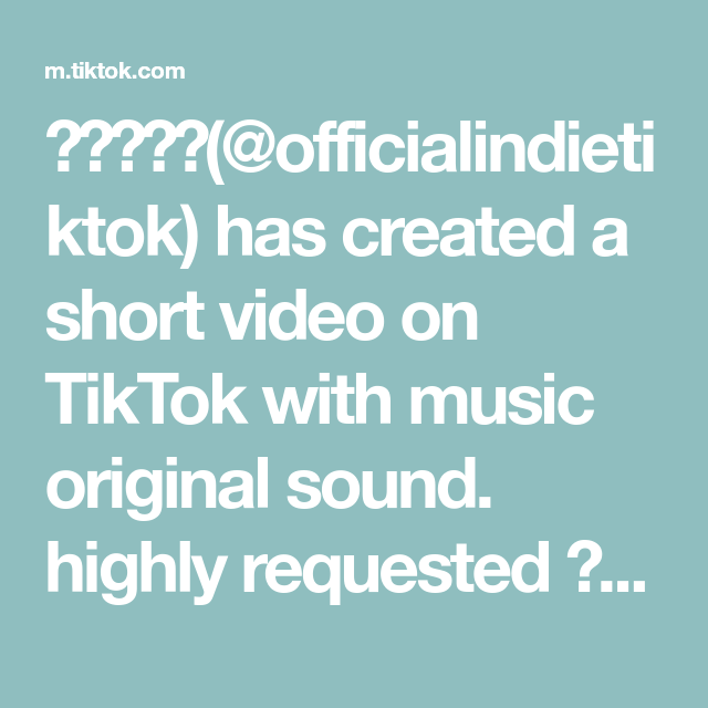 Officialindietiktok Has Created A Short Video On Tiktok With Music Original Sound Highly Requested Food Writing Favorite Side Dish Hearty Dinner