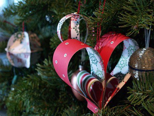15 Cool Diy Paper Christmas Tree Ornaments Handmade Christmas