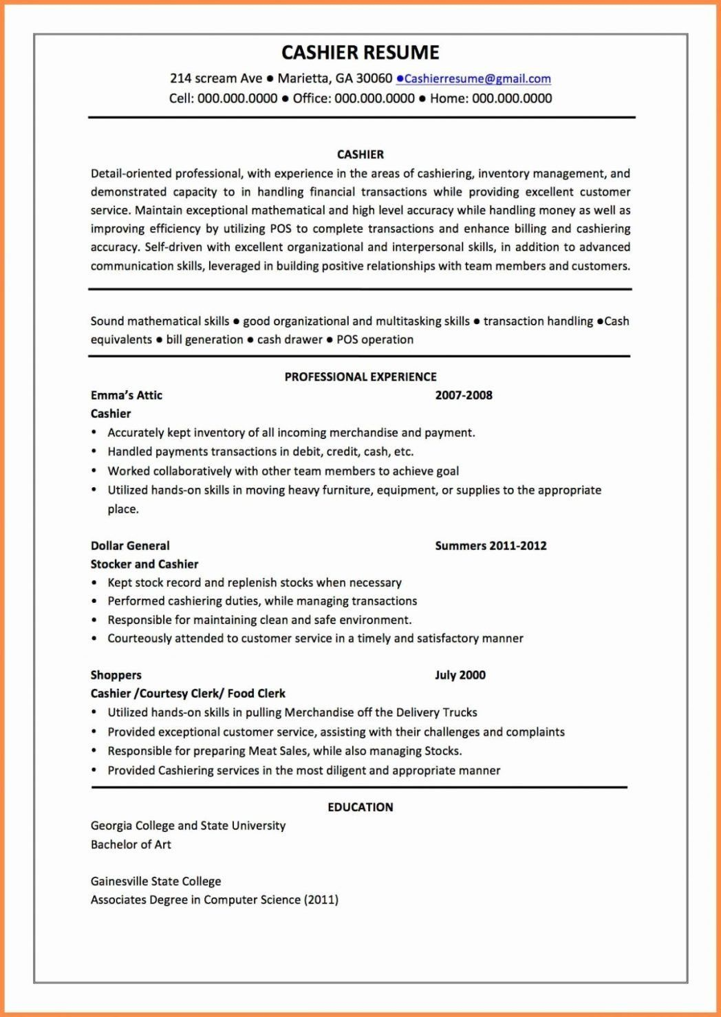 32 lovely computer science student resume in 2020