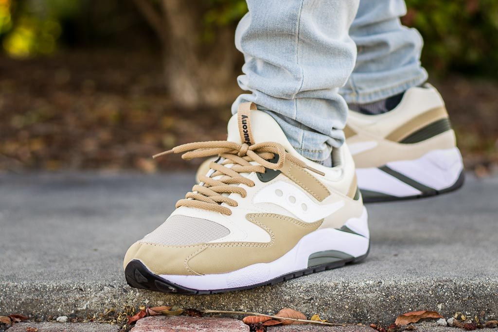 See my on foot video review of these Saucony Grid 9000 Sand + where to find  em c73e0985ff7