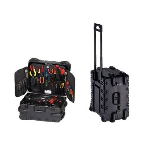 Chicago Case Military Extra Large Electronic Tool Case with Wheels. $297.37