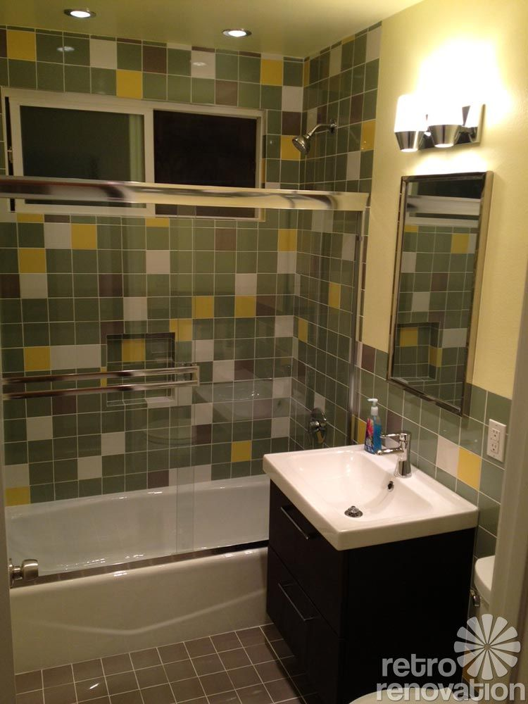 Craig And Mike's Fast And Affordable 1952 Bathroom Remodel  Retro Inspiration Bathroom Remodeled 2018