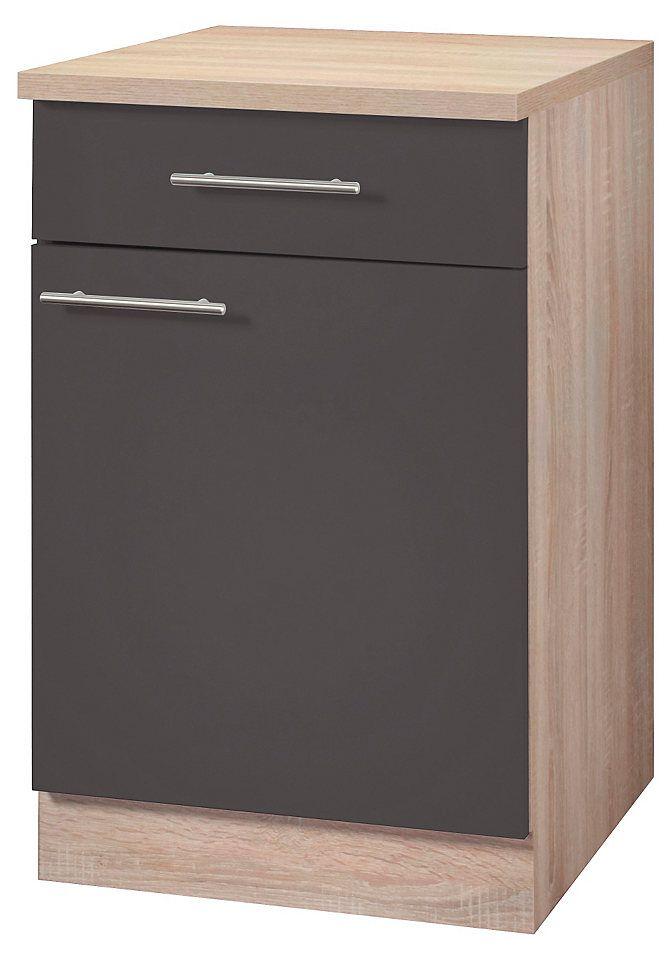 Wiho Küchen Unterschrank »Montana« Breite 50 cm Jetzt bestellen - küchen unterschrank mit arbeitsplatte