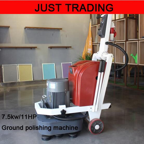 7 5kw 12 Pieces Polishing Head Gound Floor Concrete Polishing Machine Gound Polisher Gound Grinding Machine Concrete Floors Grinding Machine Flooring