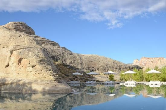 Travel Advisor Patrons Way That This Is The Destination Resort In Utah Amangiri Water United States