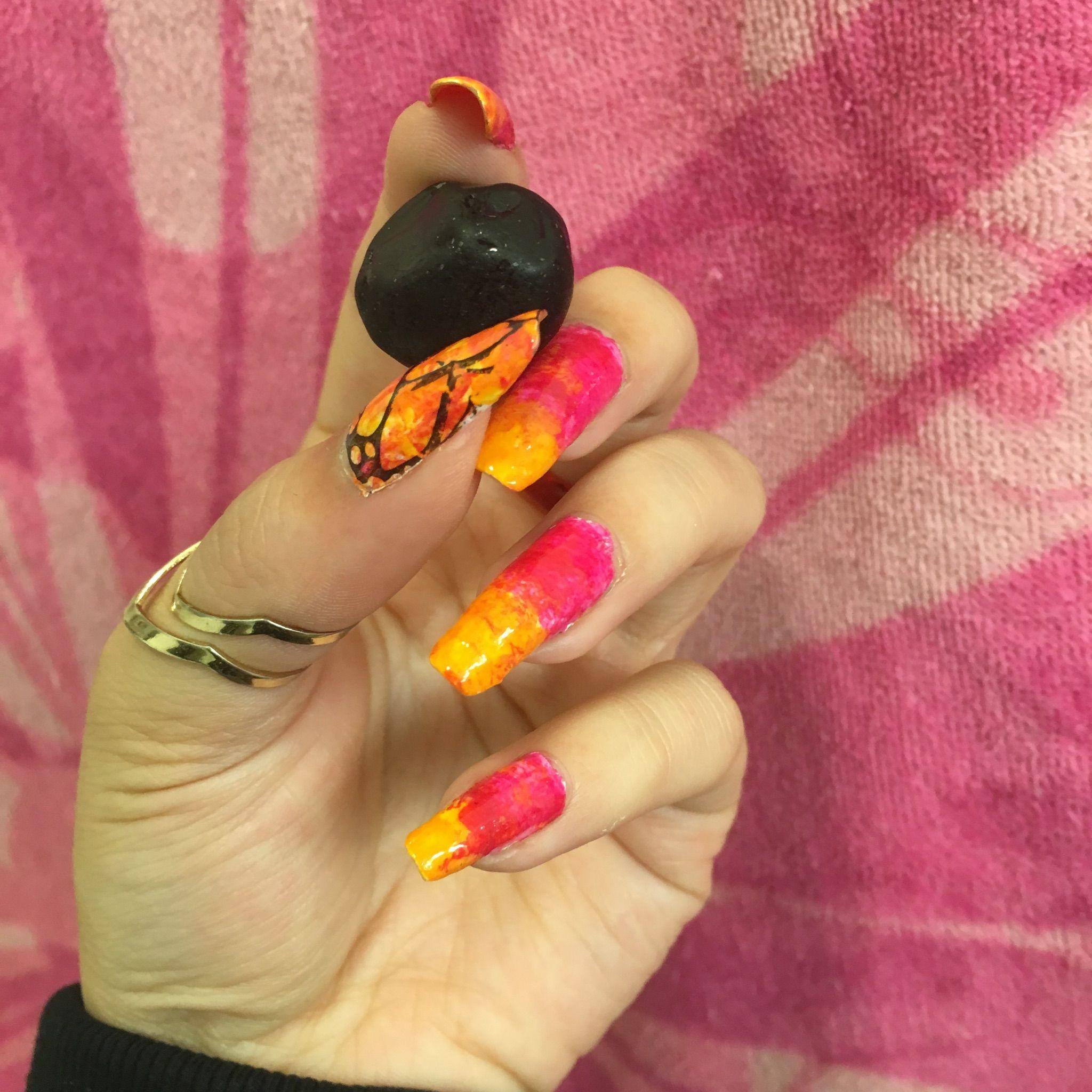 Bright nails by MaxAna x
