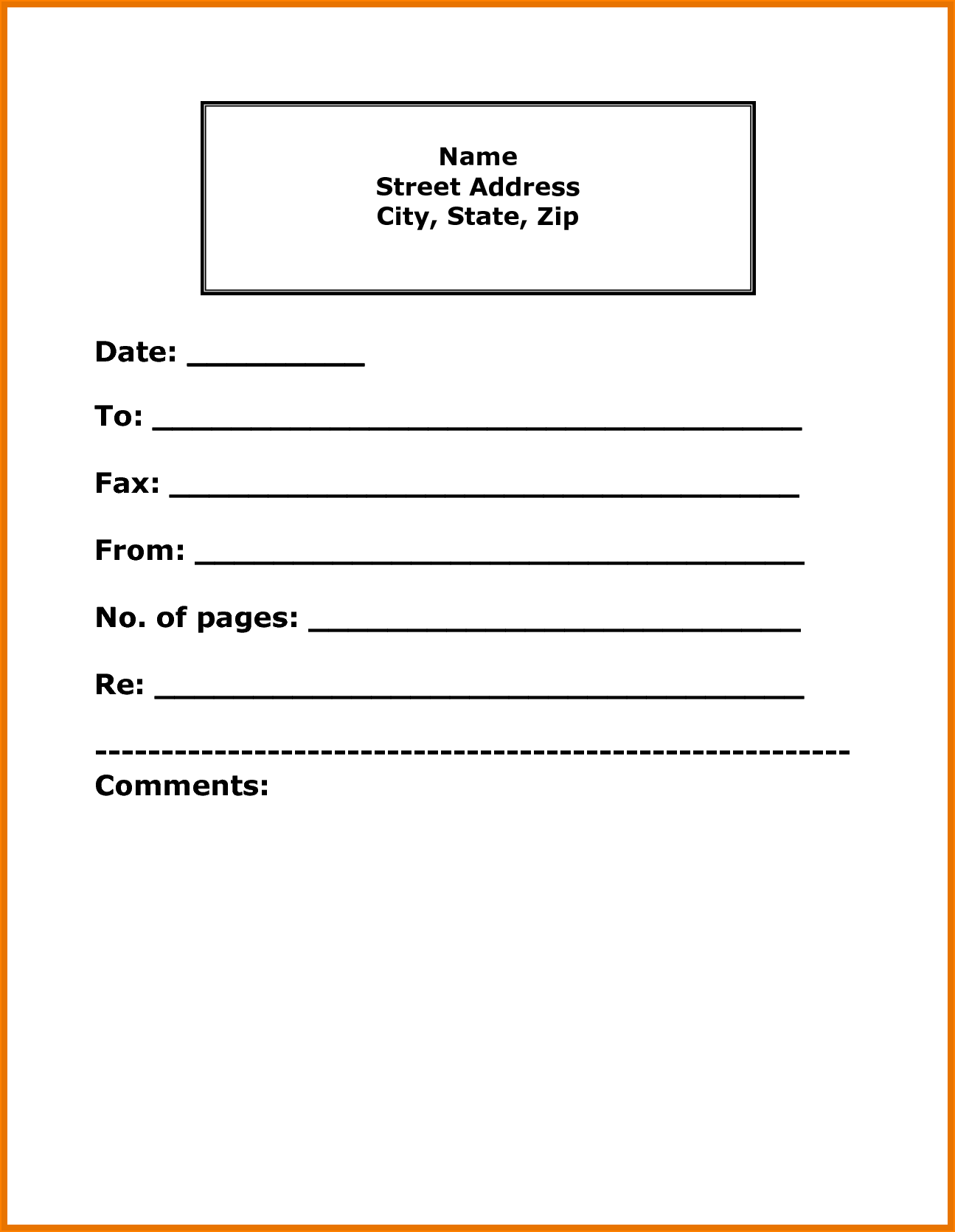 How Make Fax Cover Sheet Resume Create Reference Page For  Home