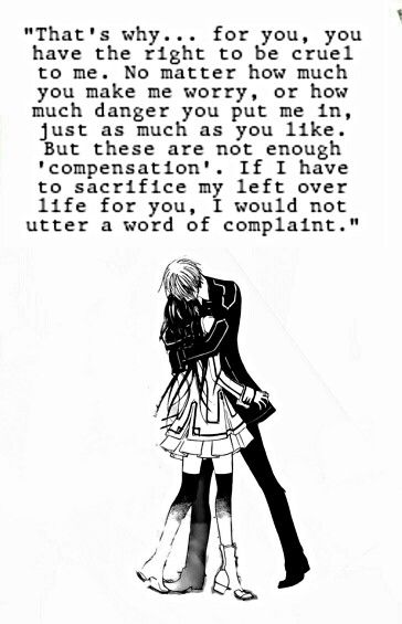 vampire knight | Anime quotes~❤ | Pinterest | Manga, Dibujos ...