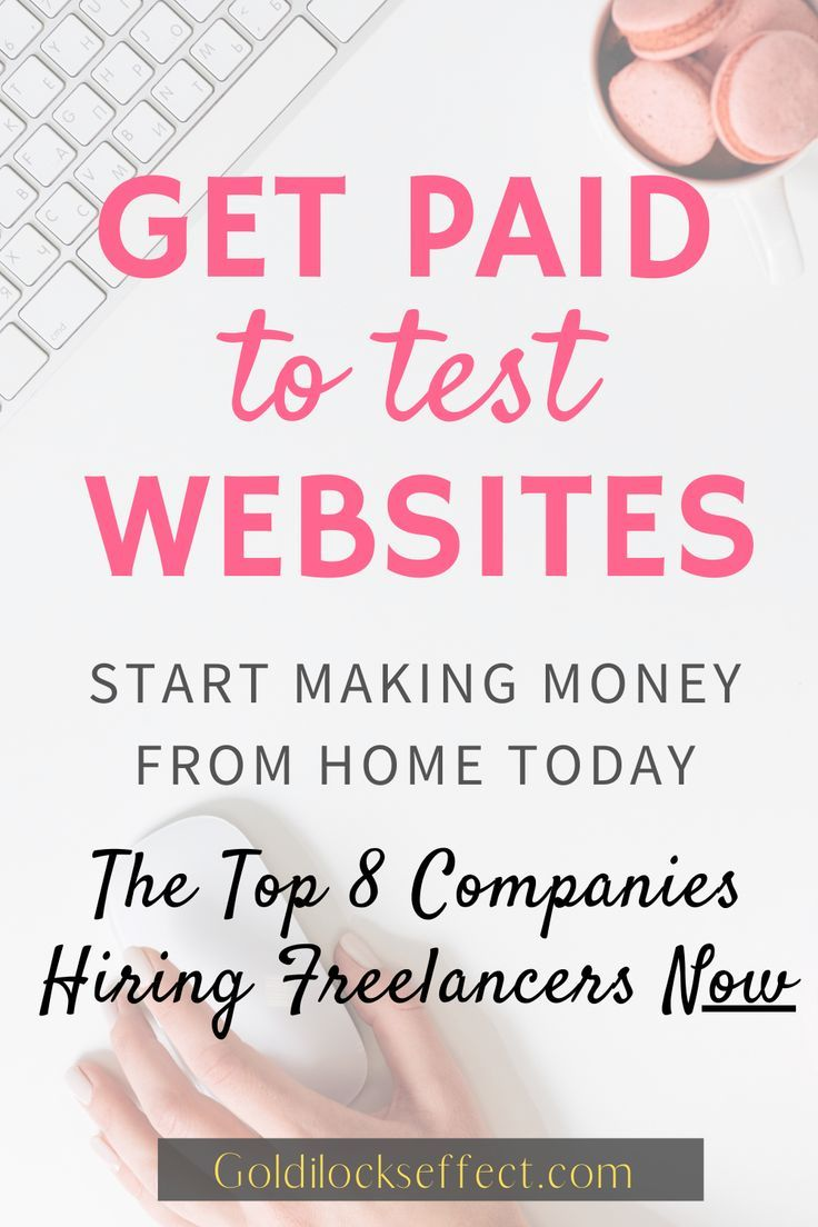 Looking for ways to bring in extra money from home? Usability Testing is one of my all-time favorite side hustles. When freelancing as UX tester you can work from home (work anywhere in the world!) set your own  hours & make up to $60/hr giving honest feedback. I typically earn an extra $1000 month with usability testing. These are my favorite (& top paying) sites  hiring freelancers to work from home in 2020. A typical UX test is $10 for about 10 minutes of your time.  #uxtest #usabilitytesting