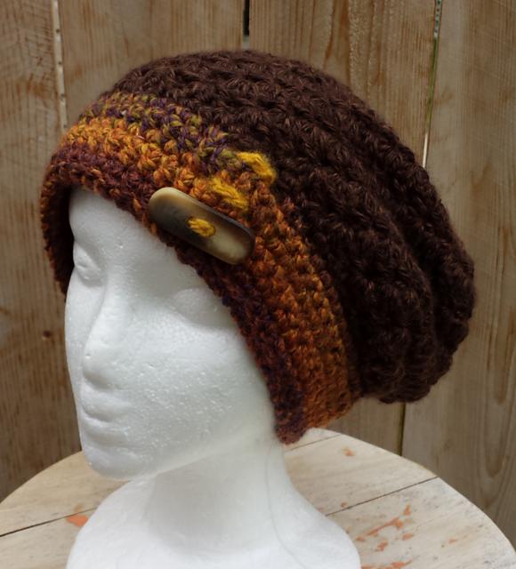 Maddie\'s Slouchy Hat pattern by Heidi Yates