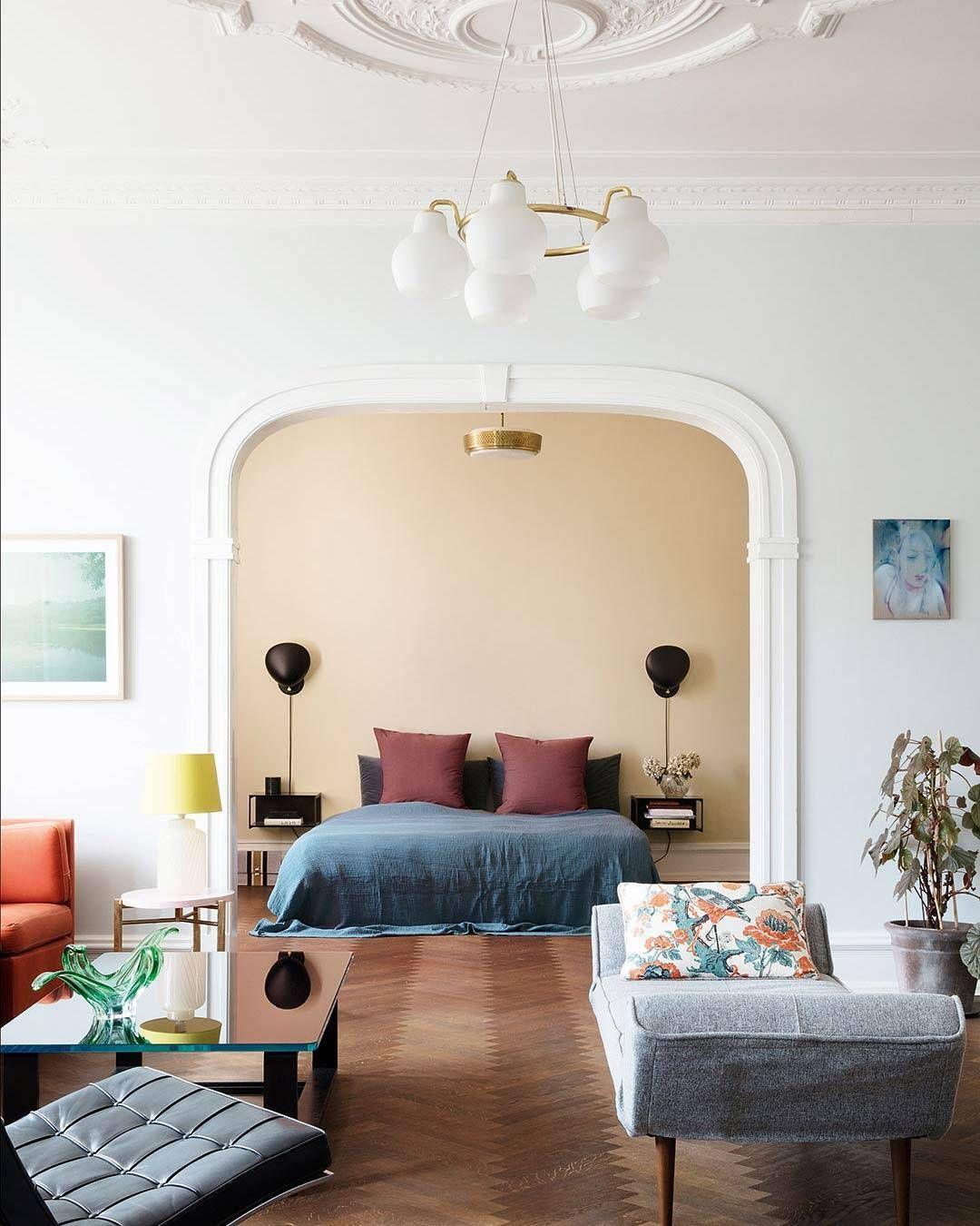 Danish Home Design Ideas: I En Herskabslejlighed Nord For København Har