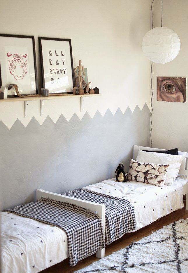 Habitación infantil para dos.   Recámaras niños   Pinterest ...