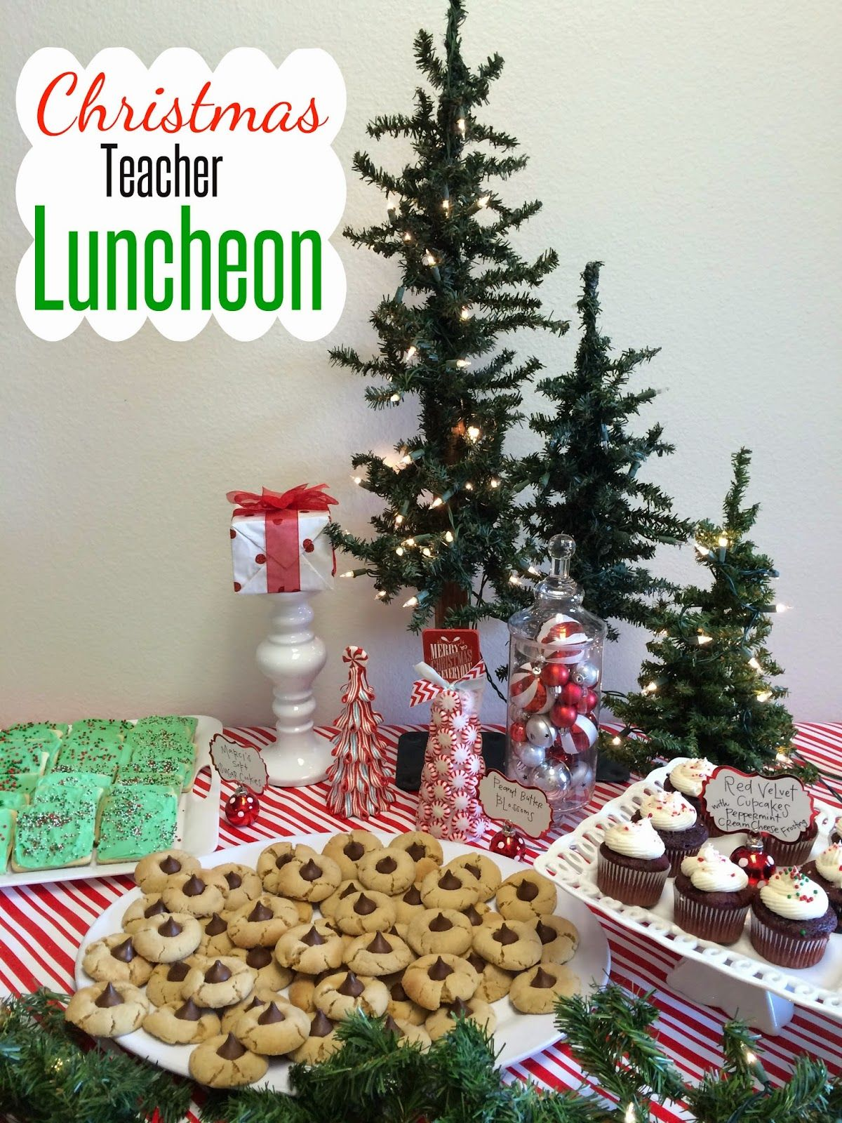 Marci Coombs Teacher Appreciation In 2020 Christmas Luncheon Teacher Appreciation Lunch Teacher Christmas