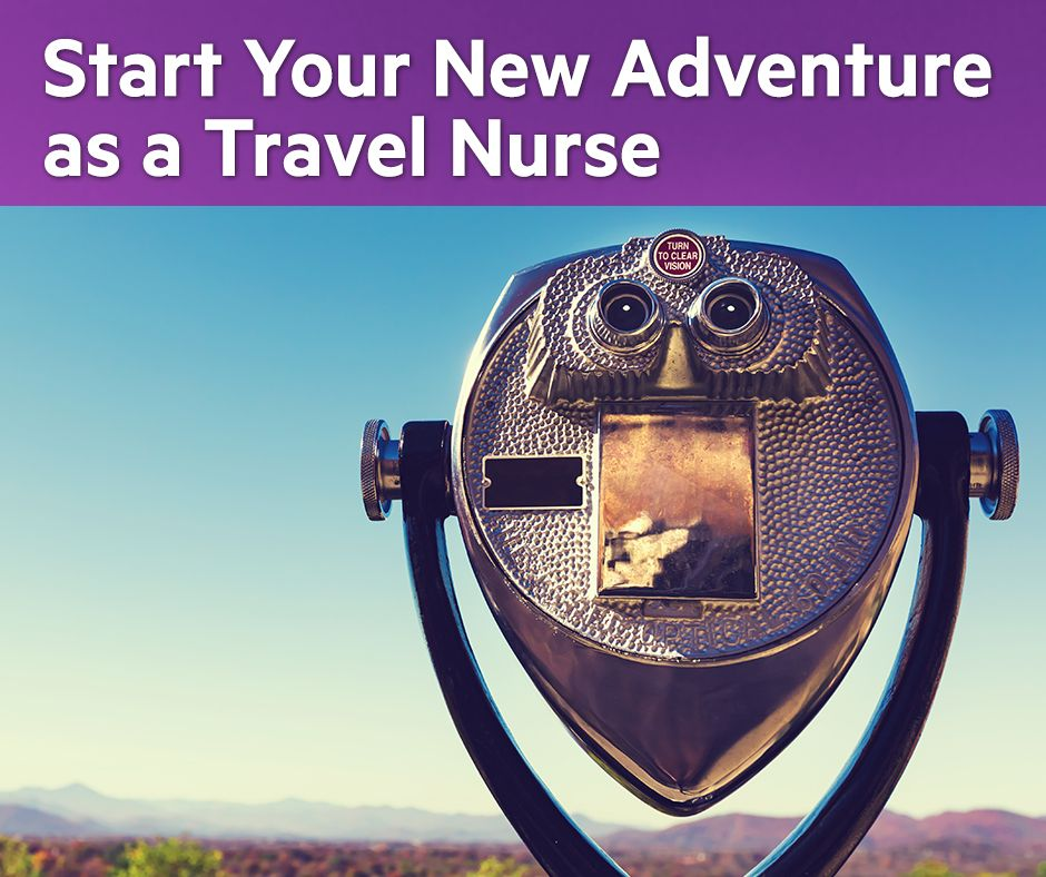 Start your new adventure as a travelnurse! Search our