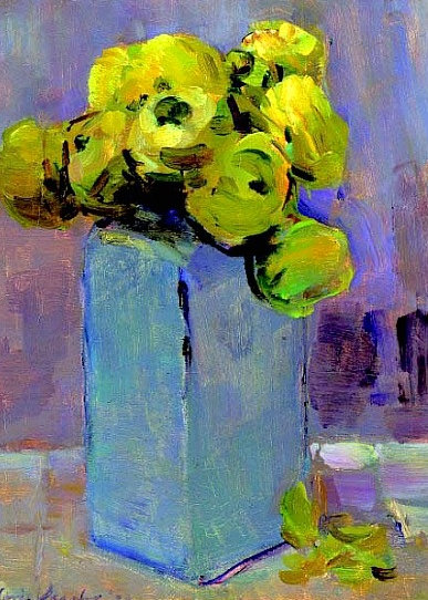 Floris Verster {1926}. I love these colours!