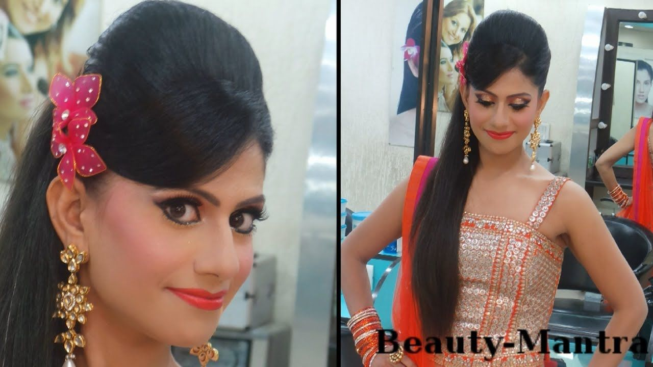 hair style girl step by step simple video in tamil