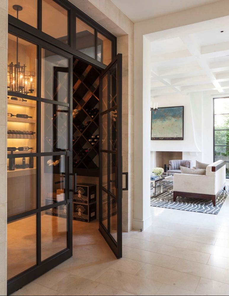 Top 5 Ways To Open A Bottle Of Wine Without A Corkscrew Home Wine Cellars Wine Closet Wine Cellar Design