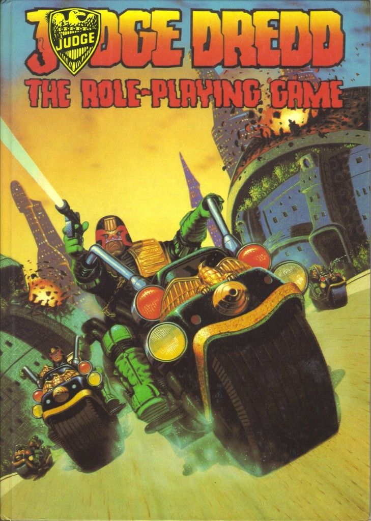 Judge Dredd (first edition, hardback) Games