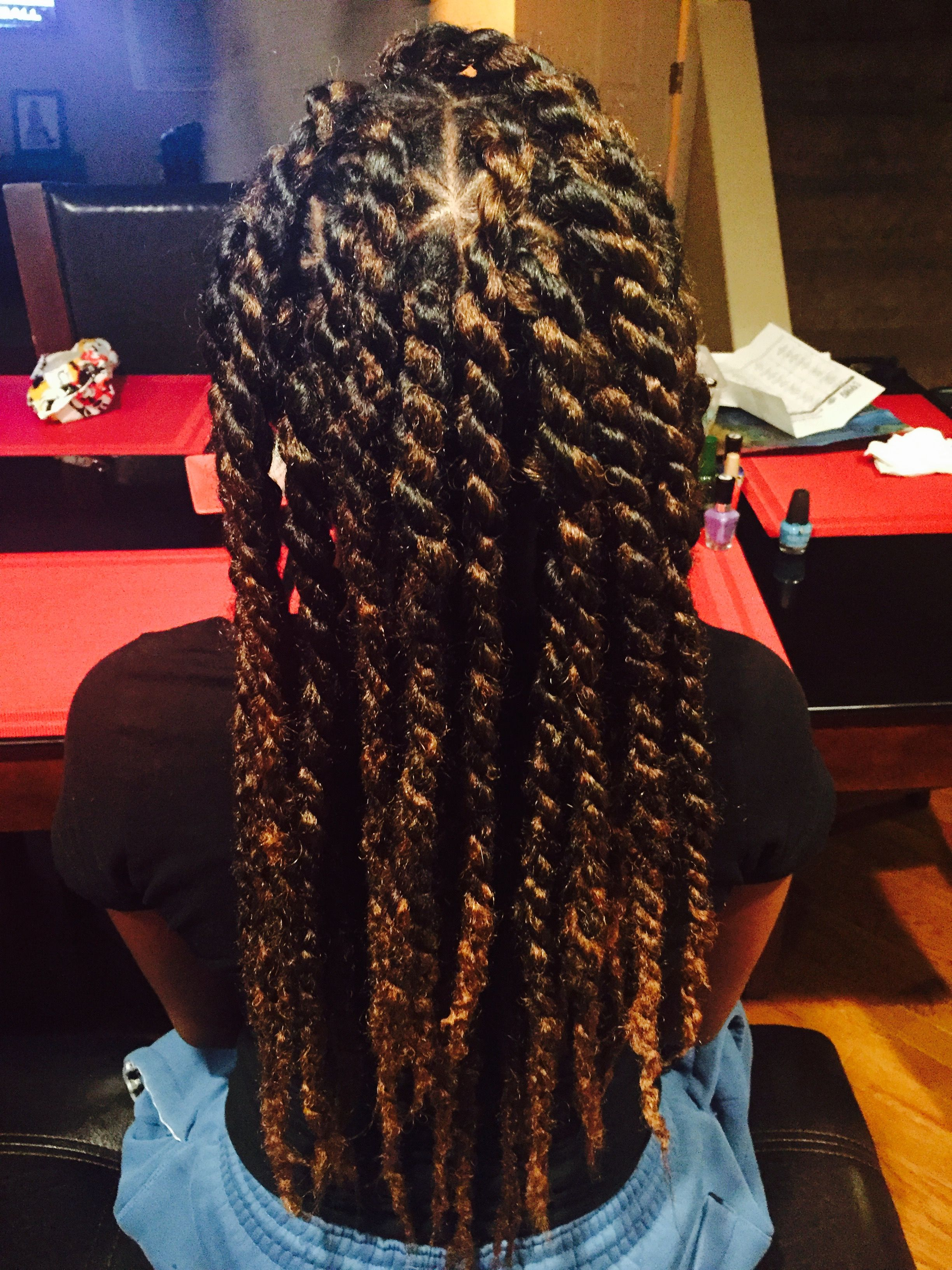 hair twists strand for two bands watch slideshow twist kids with natural