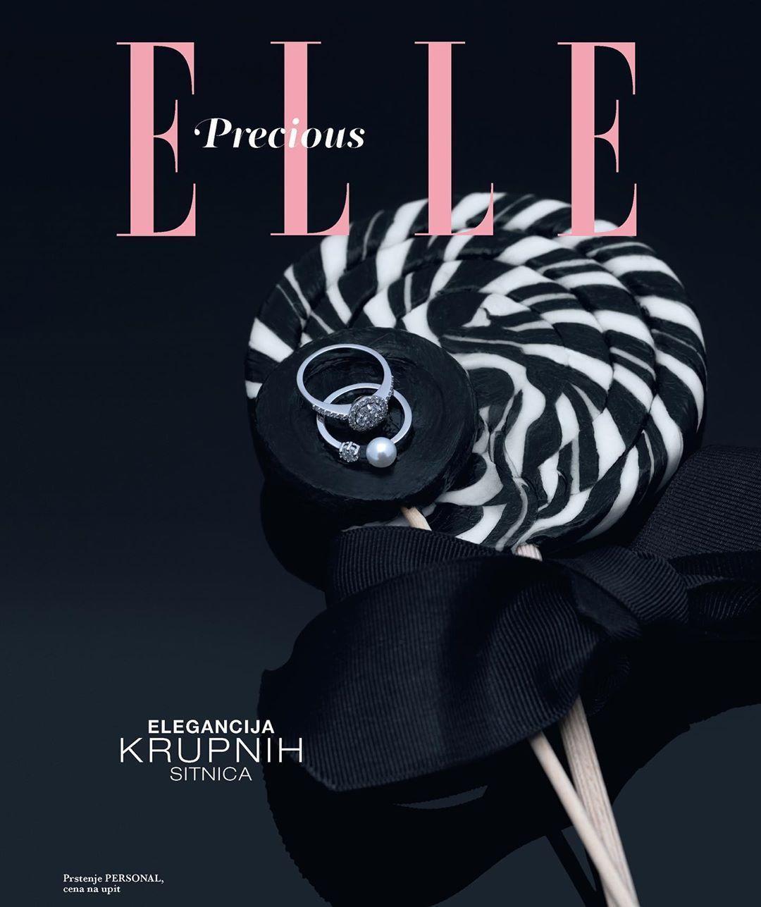 Photo of Elle jewelry editorial. Photo: Milos Nadazdin / art direction: @ana0stojic / ass…