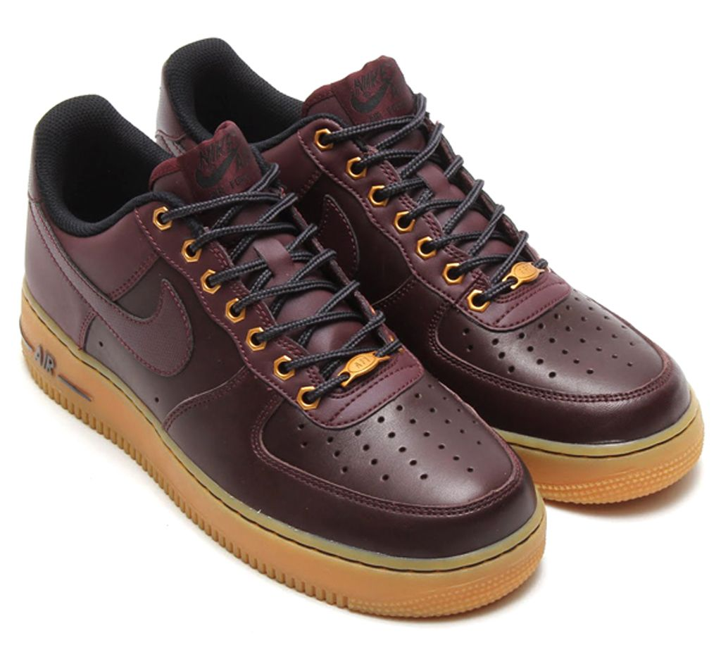 nike air force 1 low uomo marroni