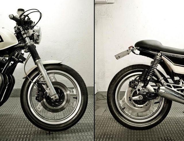 Honda CB900 Cafe Racer | By CRD | Honda Ca… | CB750F CB900F CB1100F