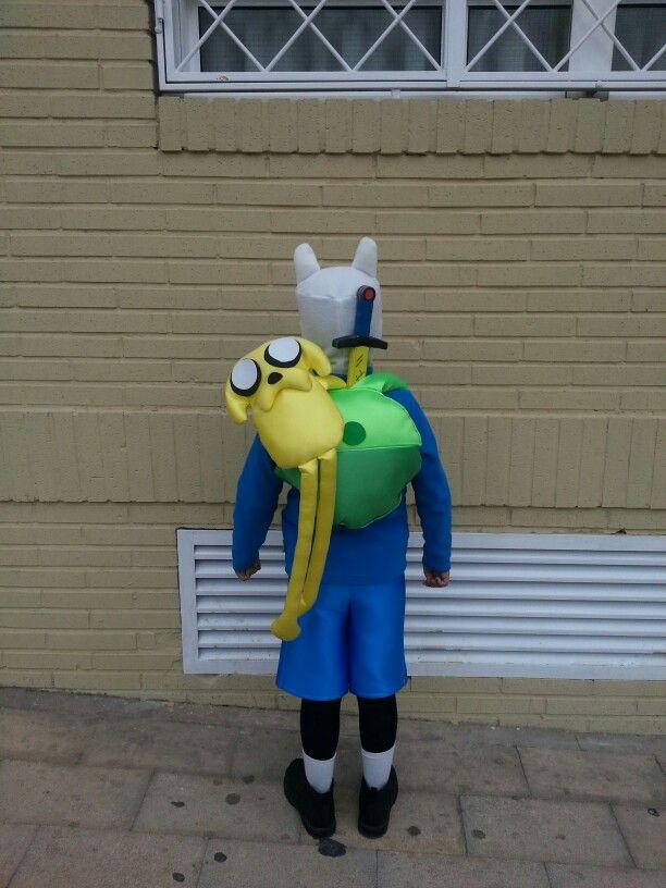 Disfraz de Finn el humano ( hora de aventura) #adverturetime