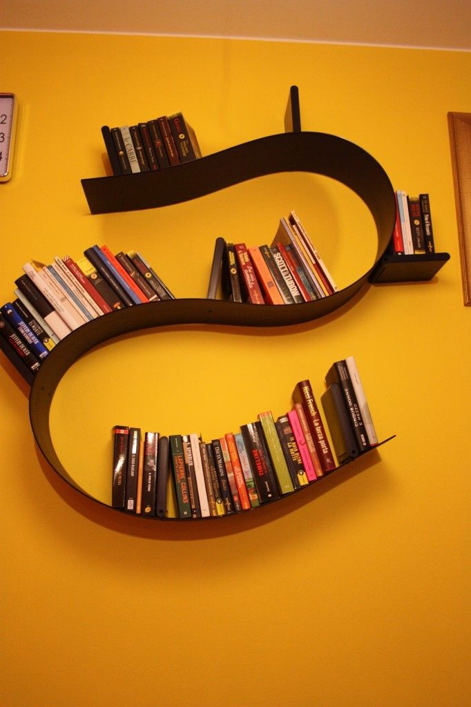 s shaped bookshelf - Google Search