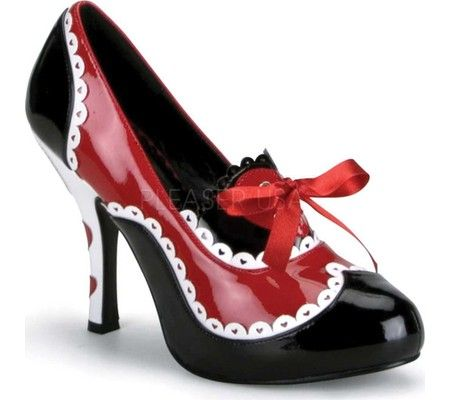 funtasma queen 03  heels high heels red high heel shoes