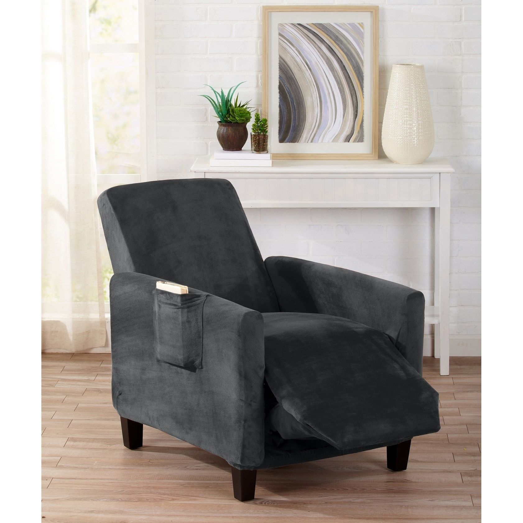 slipcovers chair throughout furniture slipcover recliner recliners covers for slip magnificent with diy