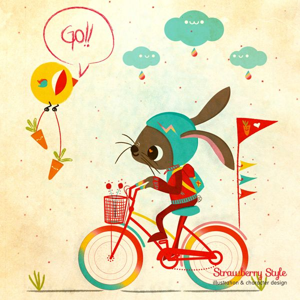 Amazing Illustration By Gabriela Castro. If You Would Like