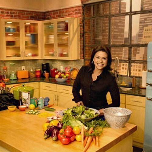 Rachael Ray S New Kitchen Set On Her Tv Talk Show Lighting