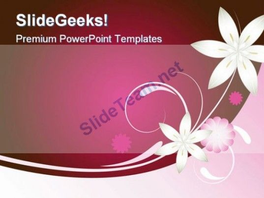 Pink and brown abstract powerpoint template 0910 powerpoint check out this amazing template to make your presentations look awesome at toneelgroepblik Image collections
