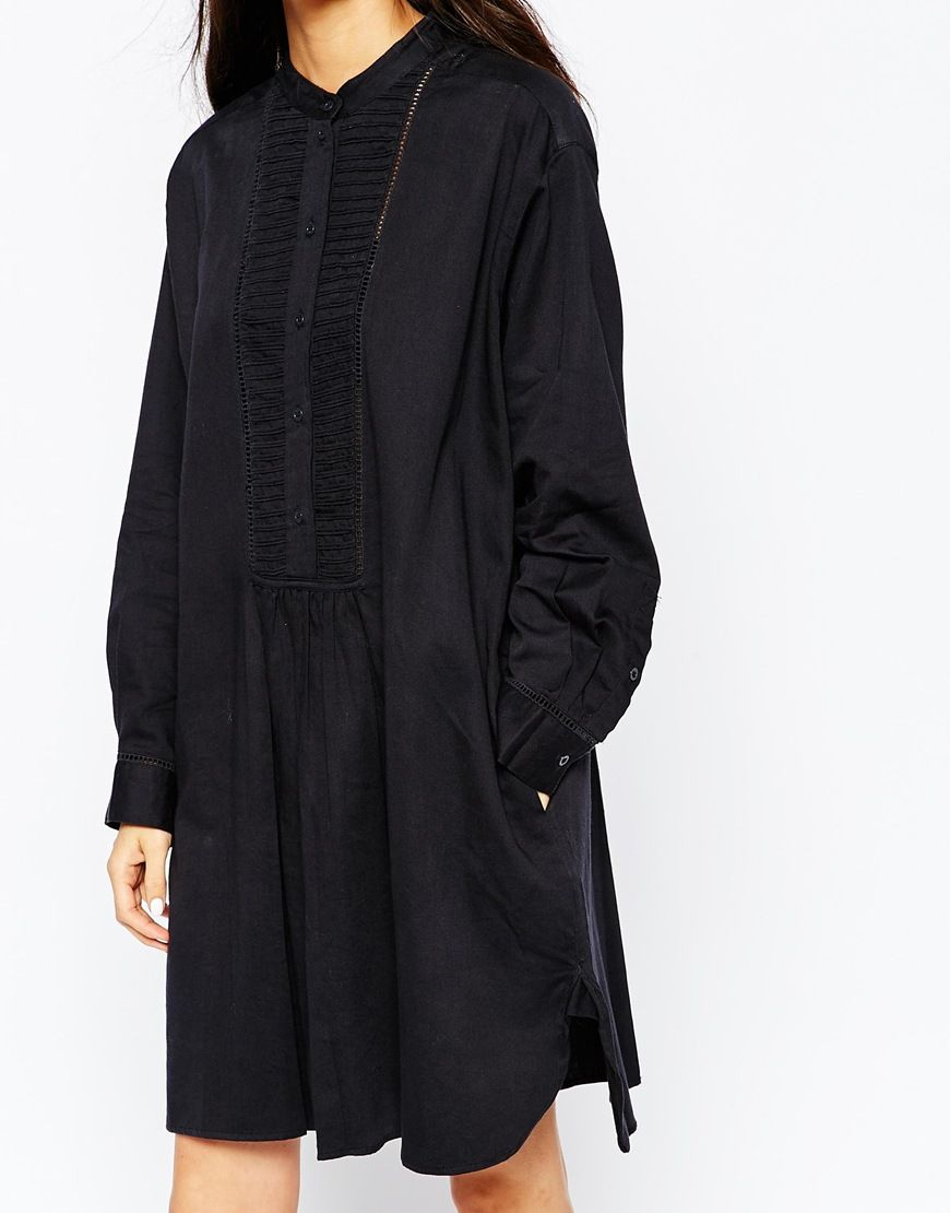Image 3 ofVanessa Bruno Athe Daphnee 70s Tunic Dress
