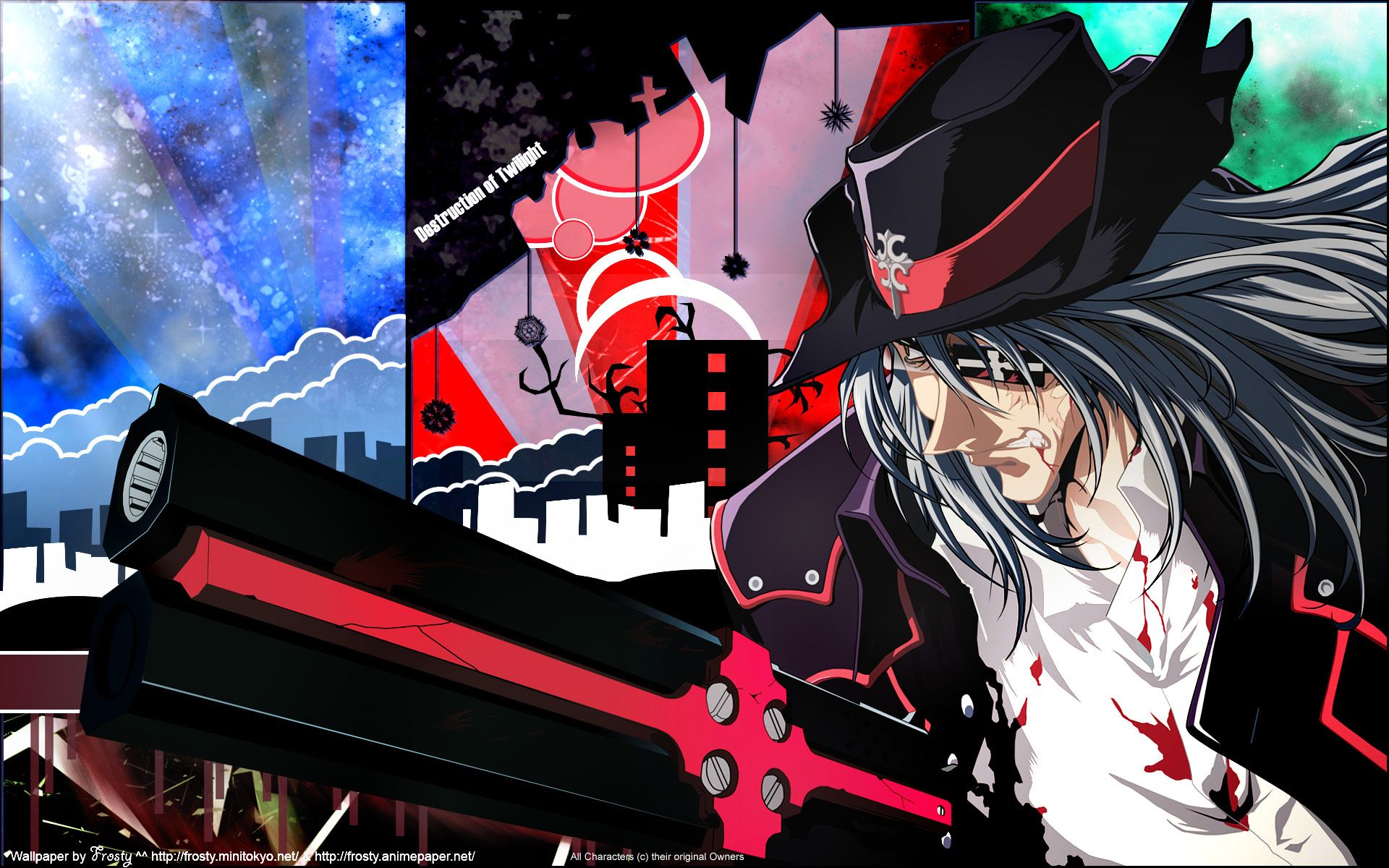 tags wallpaper gungrave anime anime images anime characters