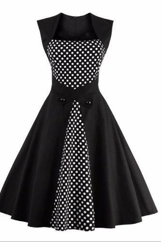 0ef320514 vestido bolinhas bolas retrô pinup vintage anos 60 | movis ...
