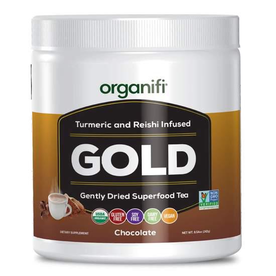 Organifi Gold Chocolate Healthy Hot Chocolate Packed With Superfoods Healthy Hot Chocolate Chocolate Pack Organifi