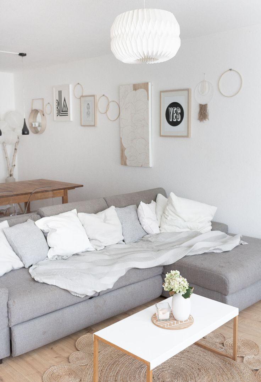Willkommen in unserem Wohnzimmer ° Nach wie vor im skandinavischen Stil, jetzt aber mit Sommer-Update #skandinavischwohnen