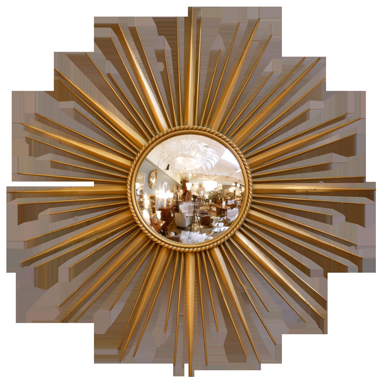 Golden Sun Mirror Starburst Mirror Sunburst Mirror Mirror