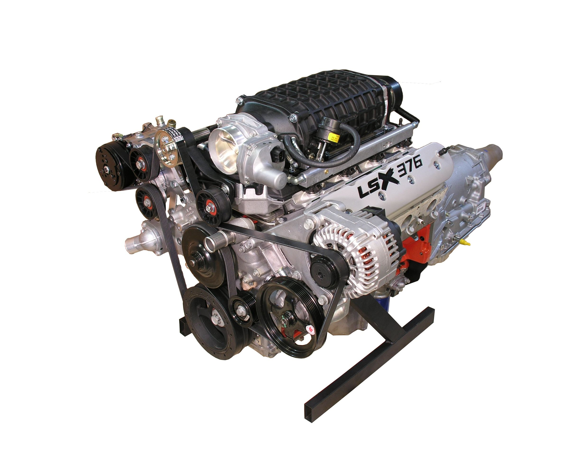 LSx 376 Engine with TVS 2300 Magnuson Supercharger - 600 HP