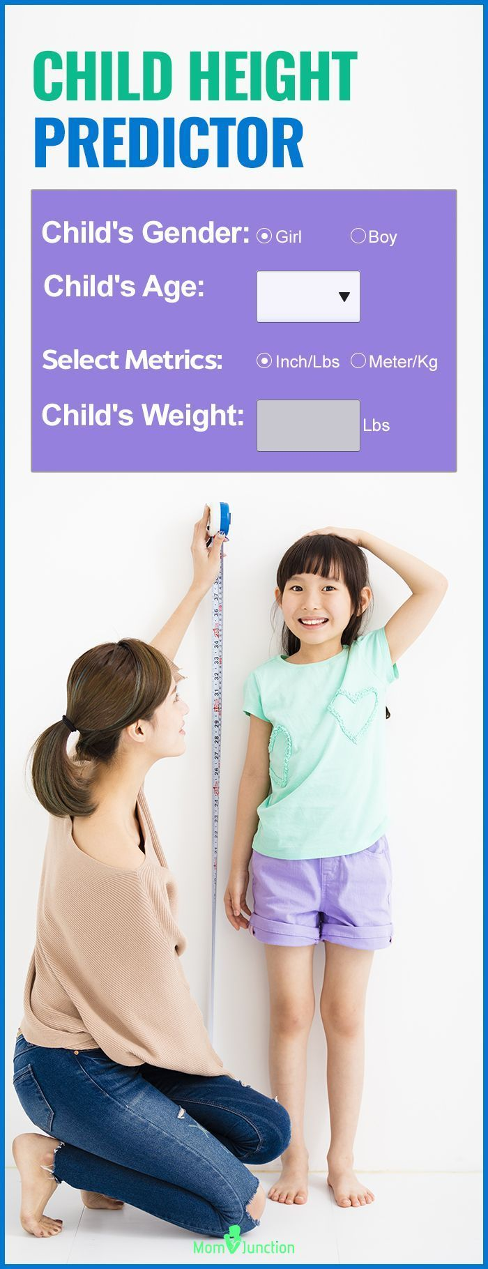 Child height predictor calculate how tall your child will be as a parent you are constantly anxious about your childs growth you make sure that he is eating wholesome food to ensure that his height and weight nvjuhfo Images