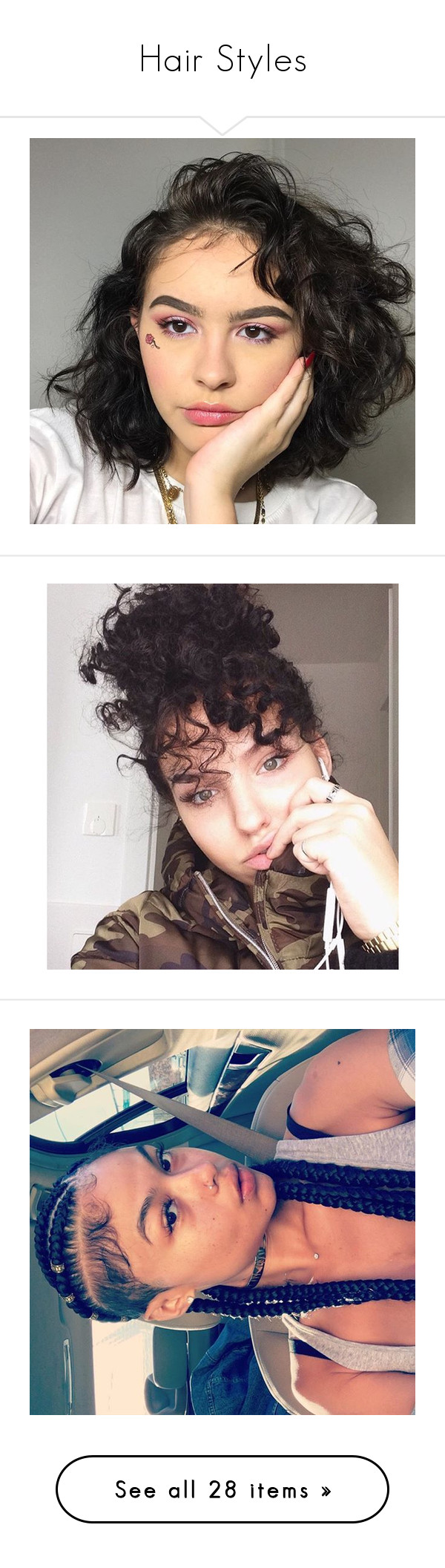 Hairstyles for curly hair: features of care 83